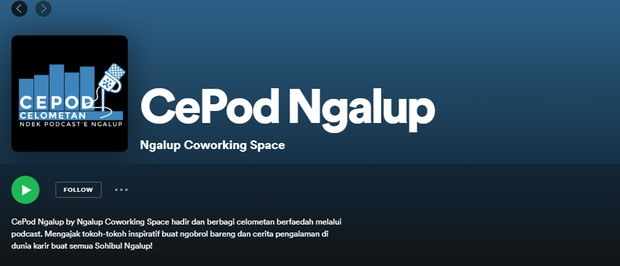 Podcast CePod Ngalup