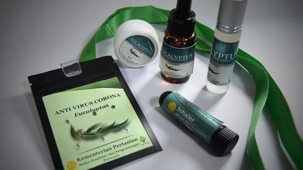 kalung antivirus berbahan eucalyptus disebut ampuh membunuh virus corona dalam 15-30 menit pemakaian