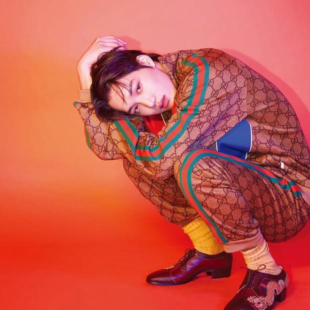 Kai EXO didapuk menjadi global brand ambassador fashion ternama Gucci.