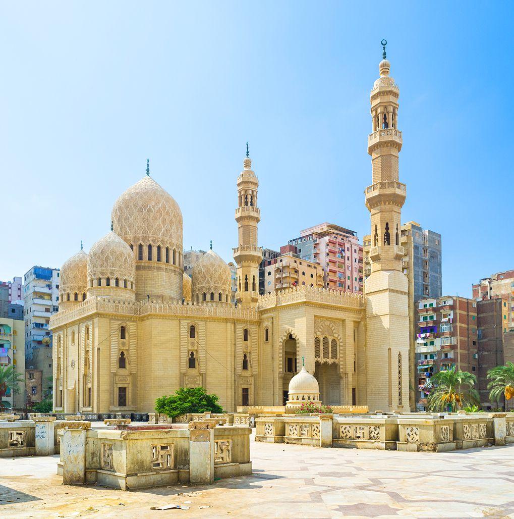 Attarine Mosque in the Mediterranean city of Alexandria