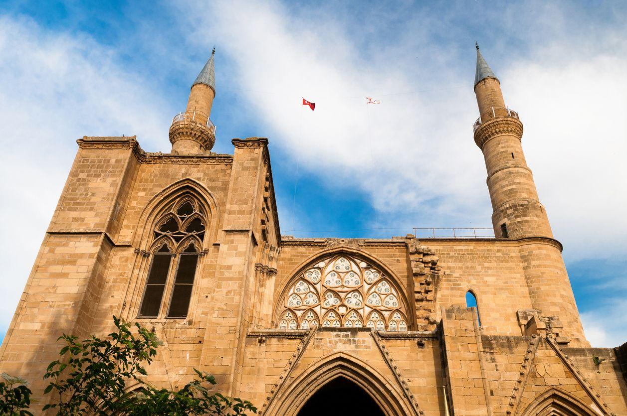Selimiye mosque in northern Nicosia