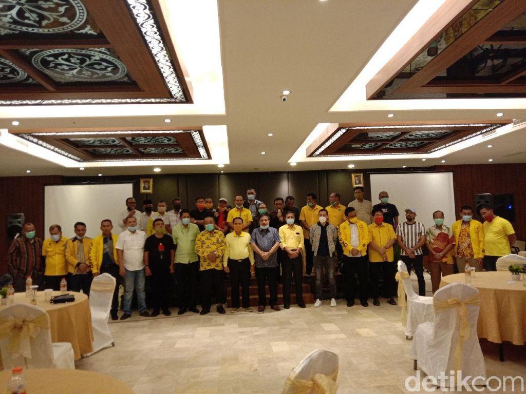 27 DPD Deklarasi Dukung Yasyir Ridho Jadi Calon Ketua Golkar Sumut