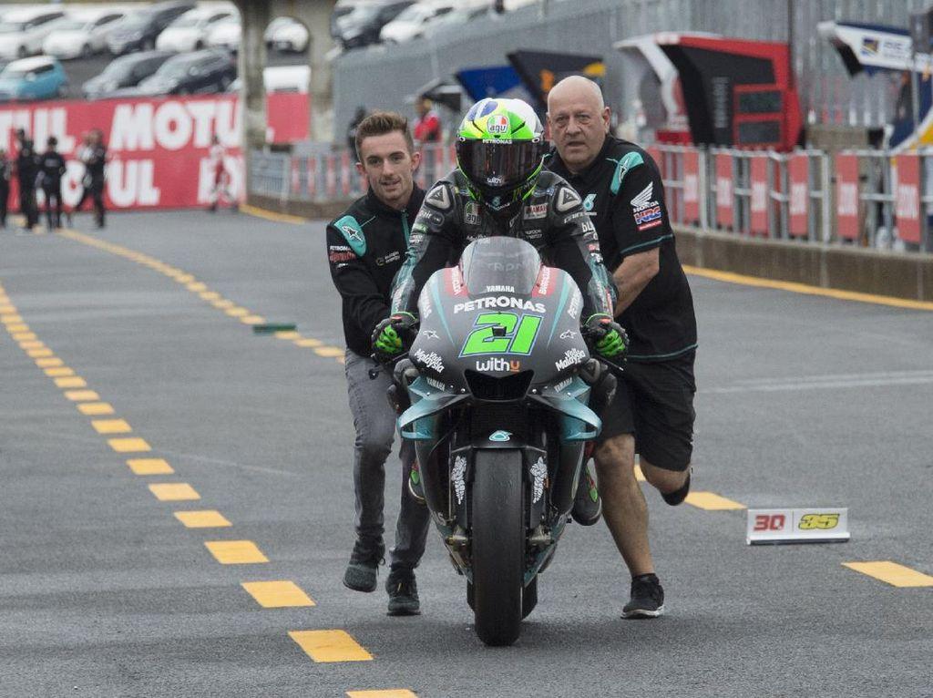 Free Practice II MotoGP Spanyol: Duo Marquez Crash, Morbidelli Jadi yang Tercepat