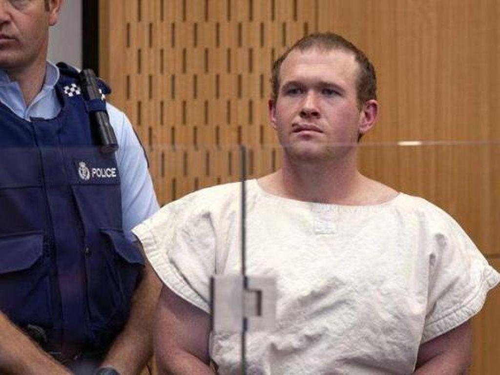 Hadapi Vonis, Teroris Australia Penyerang Masjid Tolak Didampingi Pengacara