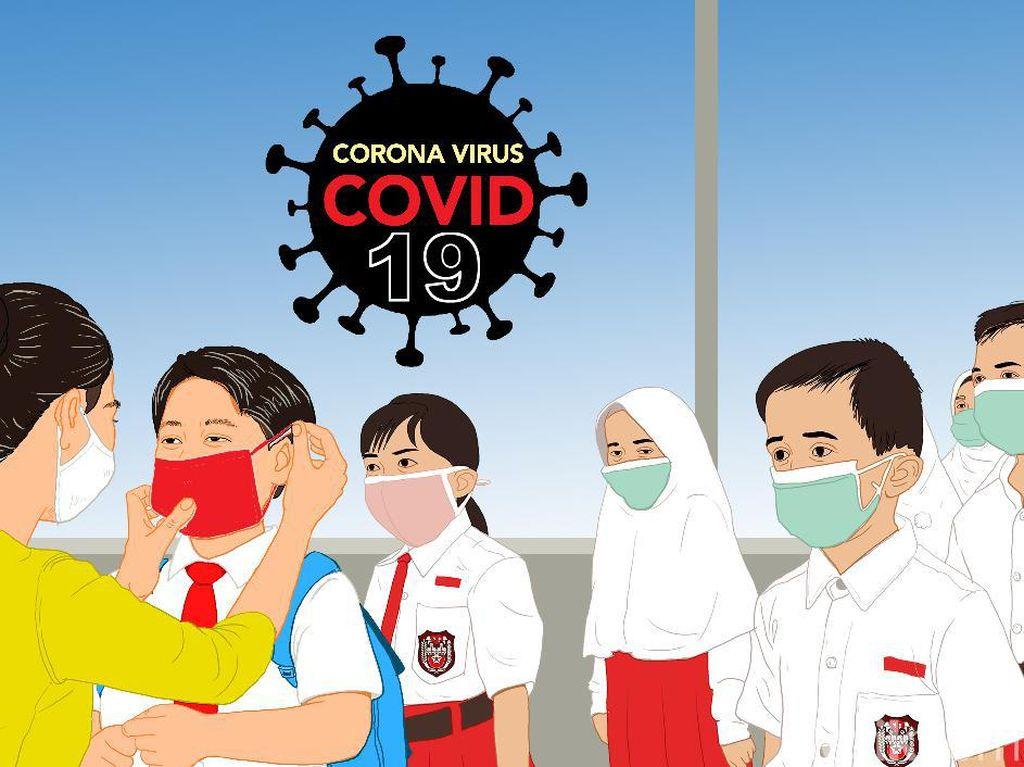 Sekolah Tatap Muka di Kota Bandung Ditunda
