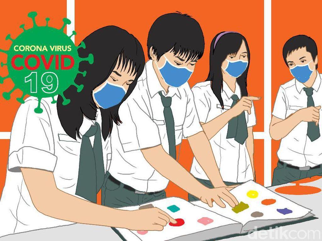 Bersiap Belajar Tatap Muka, Sekolah di Ciamis Bentuk Satgas COVID-19