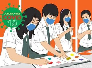 COVID-19 Masih Tinggi, Risma Belum Berani Buka Sekolah Tatap Muka