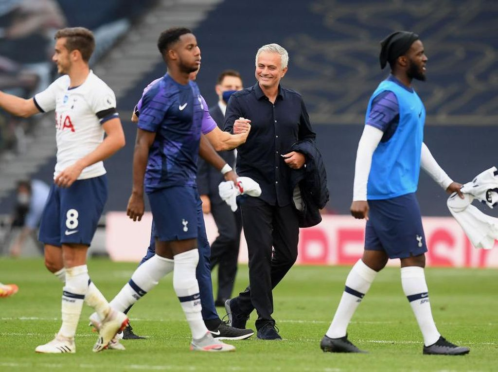 Jose Mourinho Happy