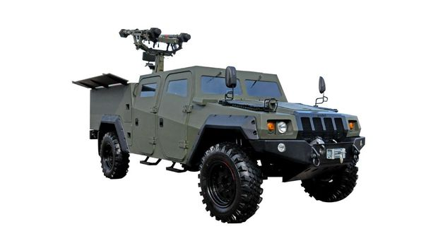 Komodo 4x4 Missile Launcher