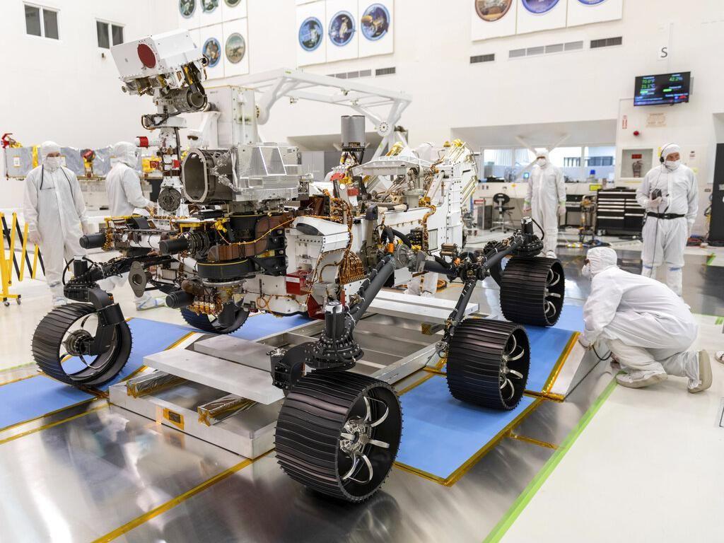 Canggihnya Perseverance, Rover NASA yang Cari Bukti Kehidupan di Mars