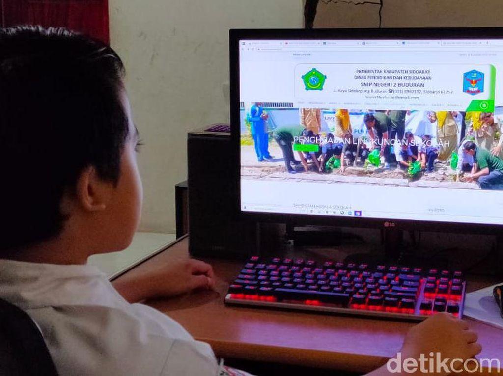 Ribuan Siswa SMP di Cimahi Alami Masalah Selama PJJ