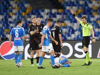 Hasil Liga Italia Tadi Malam: Napoli Vs Milan Imbang