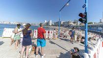 Ada Lampu Merah di Pantai Spanyol