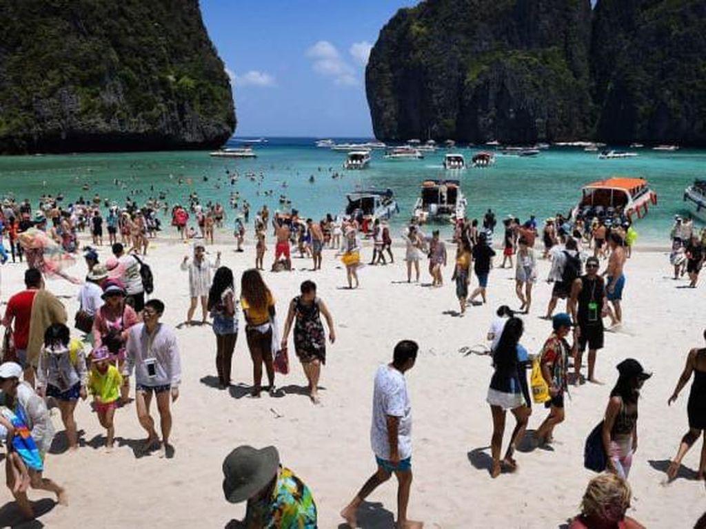 Potret Momen Negara Asia Tenggara yang Overtourism