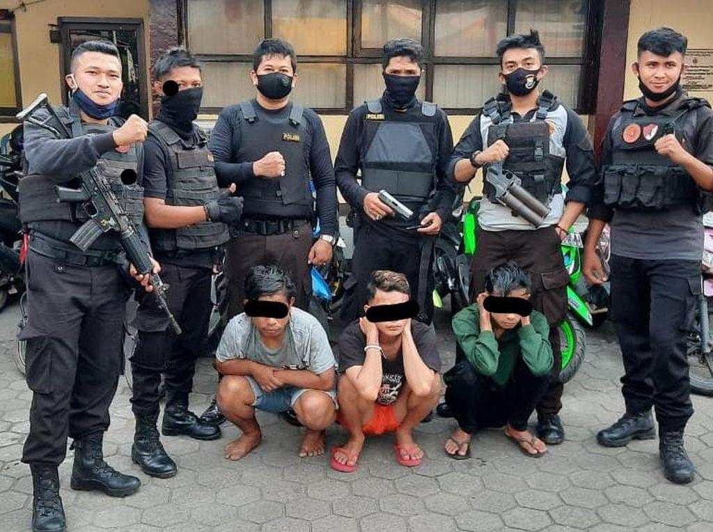 Ditangkap Saat Bonceng 3, Remaja di Makassar Ternyata Bawa Air Gun-Panah