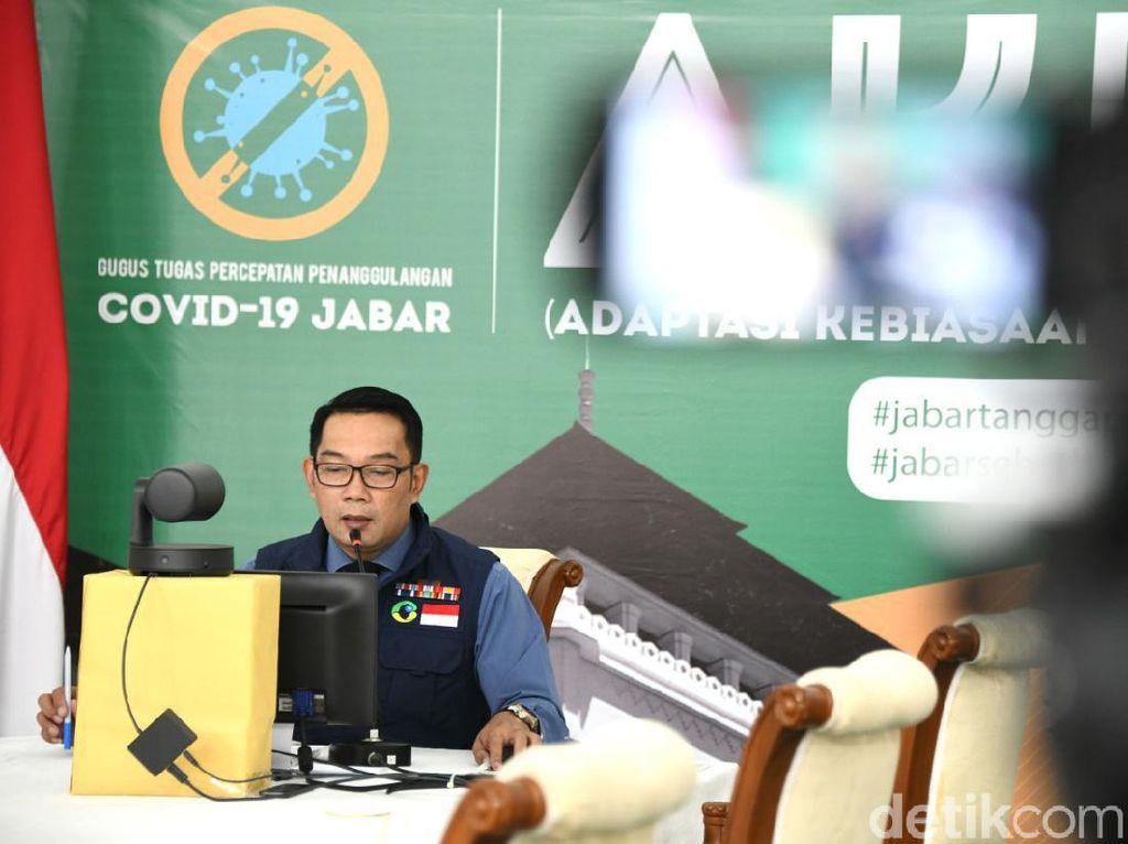 Ridwan Kamil Perpanjang Masa PSBB Bodebek hingga 29 September