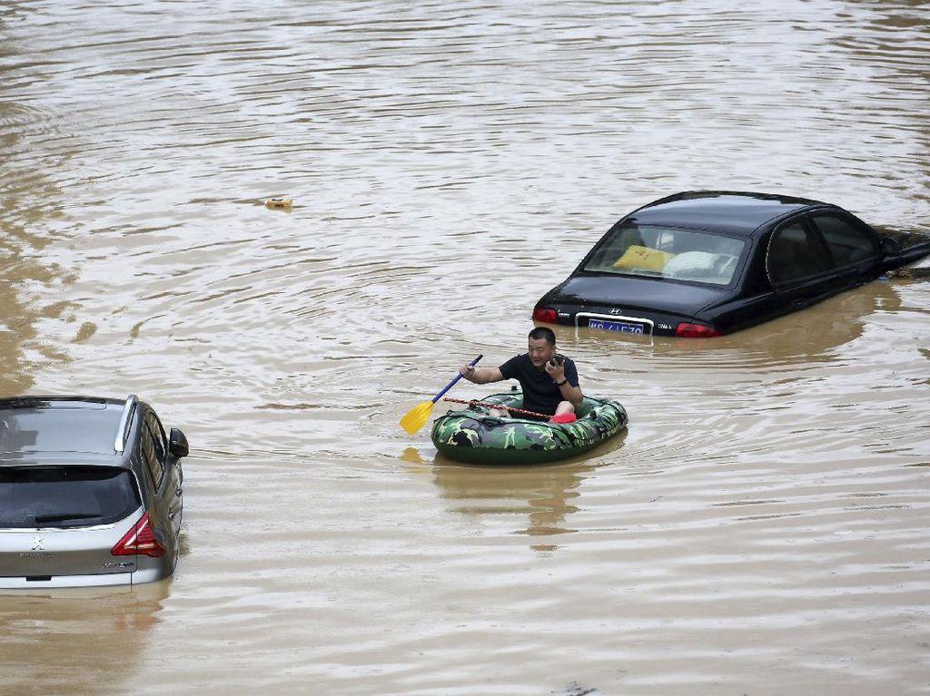 Banjir di China Berdampak Hampir ke Seluruh Wilayah