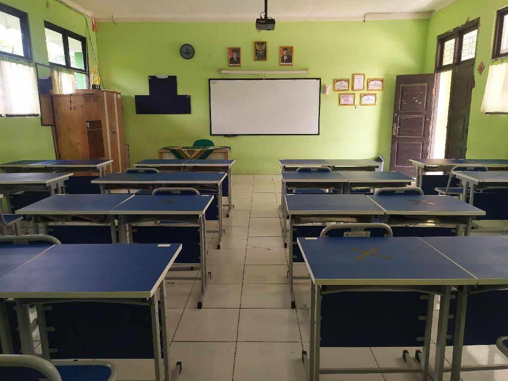 Jadi Permodelan Sekolah Tatap Muka, SMPN 2 Bekasi Siapkan Protokol COVID