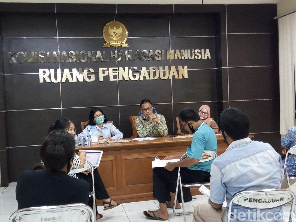 Sambangi Komnas HAM, Suku Anak Dalam Adukan soal Sengketa Lahan 3.550 Hektare