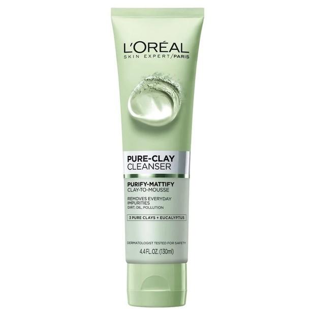 Produk dengan kandungan eucalyptus yang mampu menghilangkan minyak berlebih pada wajah