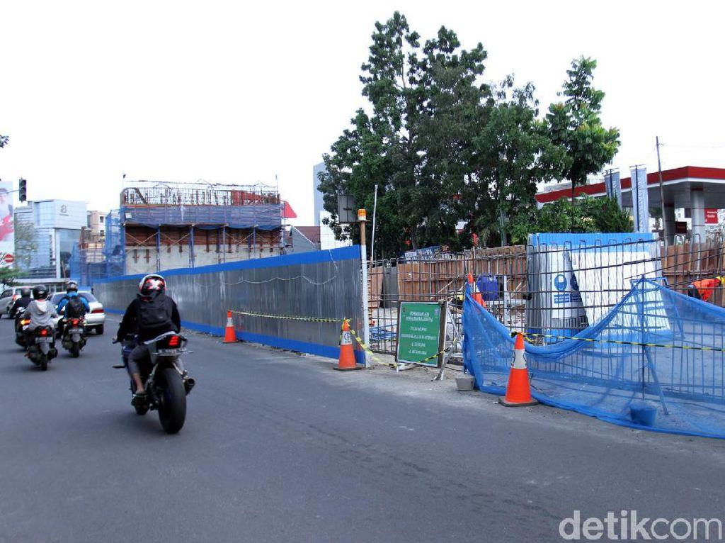 Pembangunan Fly Over, Arus Lalin Jalan Jakarta Direkayasa
