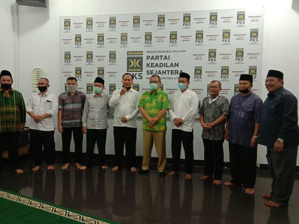 Datangi PKS Jelang Pilkada Medan, Akhyar Nasution: Insyaallah Sejalan
