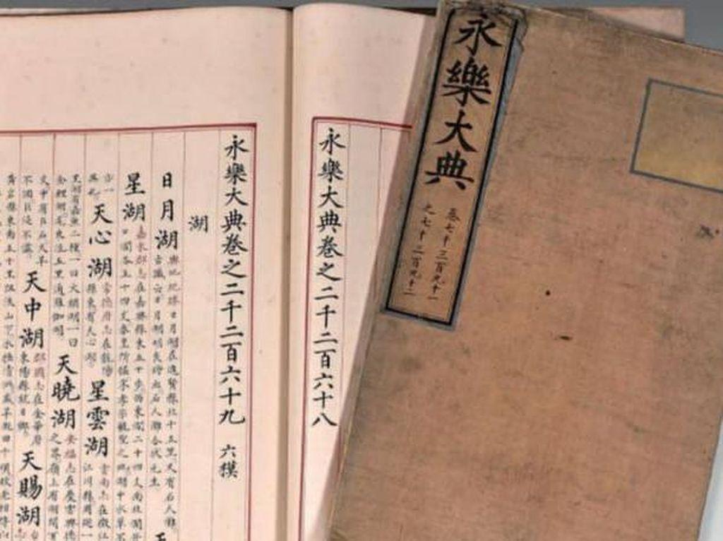 Fantastis! Buku Sangat Langka Dinasti Ming Ini Terjual Rp 130 M