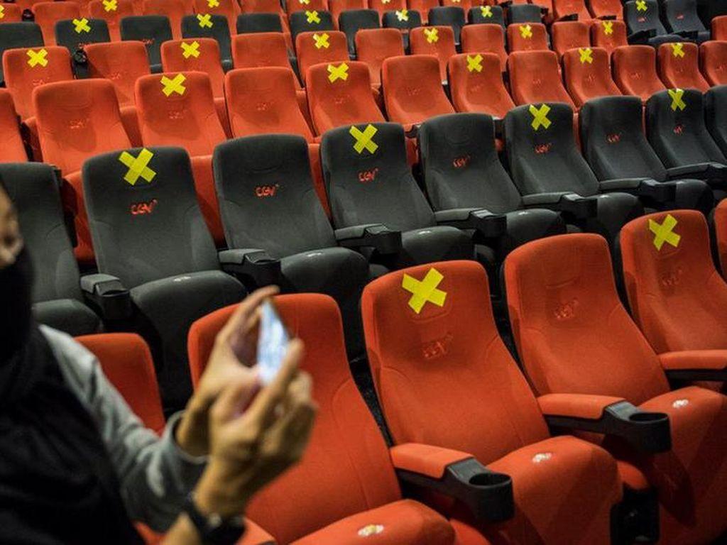 Protokol Buka Bioskop: Pengunjung Sehat Usia 12-60 Tahun, Pesan Tiket Online