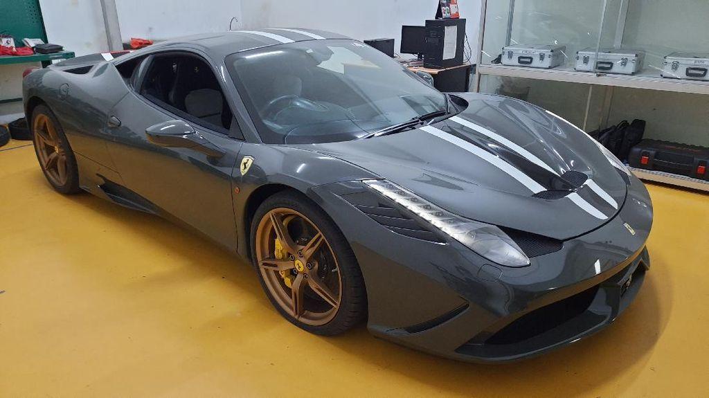 Ini Ferrari Selundupan dari Singapura yang Dilelang Rp 6,4 M