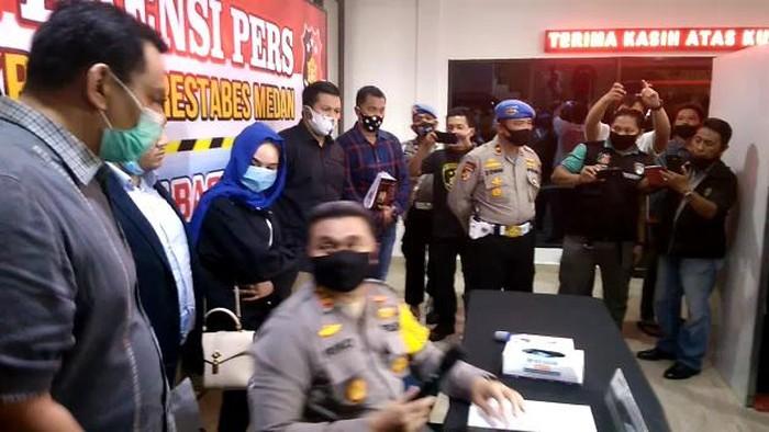 Foto Hana Hanifah (Datuk Haris Molana-detikcom)