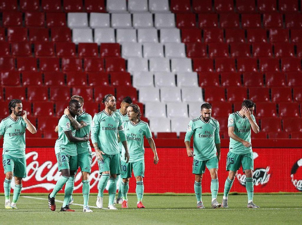 Real Madrid Satu Kemenangan Lagi Menuju Trofi LaLiga