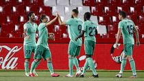 Real Madrid Hantam Granada 2-1, Titel LaLiga di Depan Mata