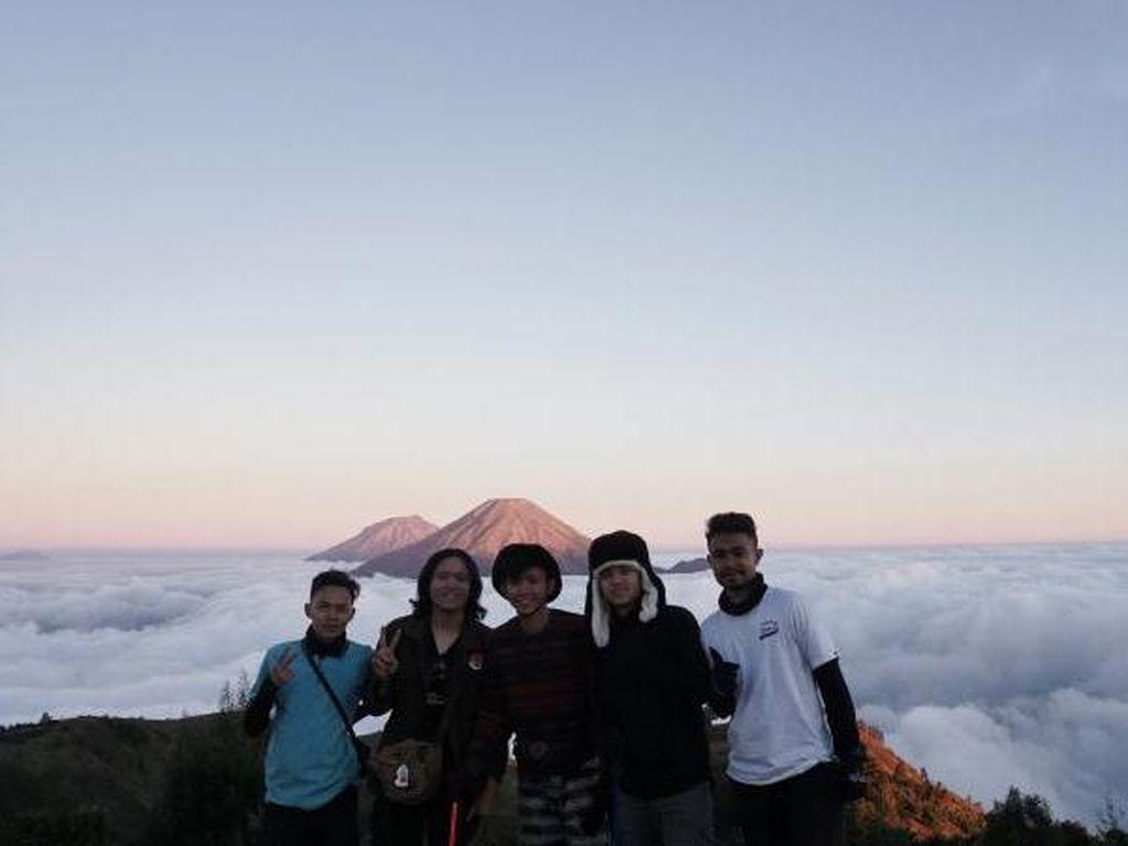 Perdana Mendaki Gunung Prau, Langsung Jatuh Hati