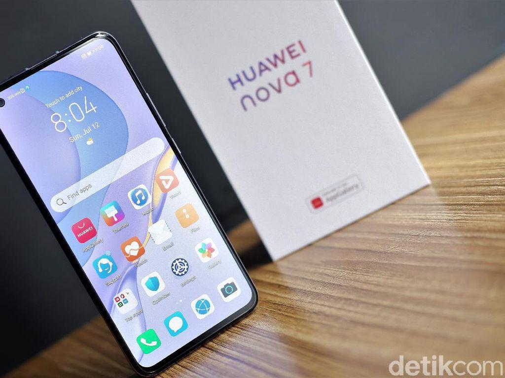 Huawei Nova 7, Performa Flagship Harga Rp 6 Jutaan
