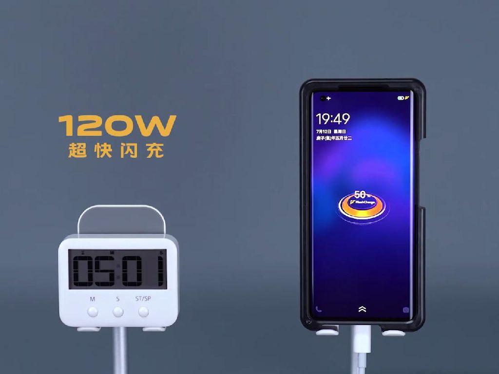 Vivo iQOO Pamer Teknologi Pengisian Super Cepat 120W