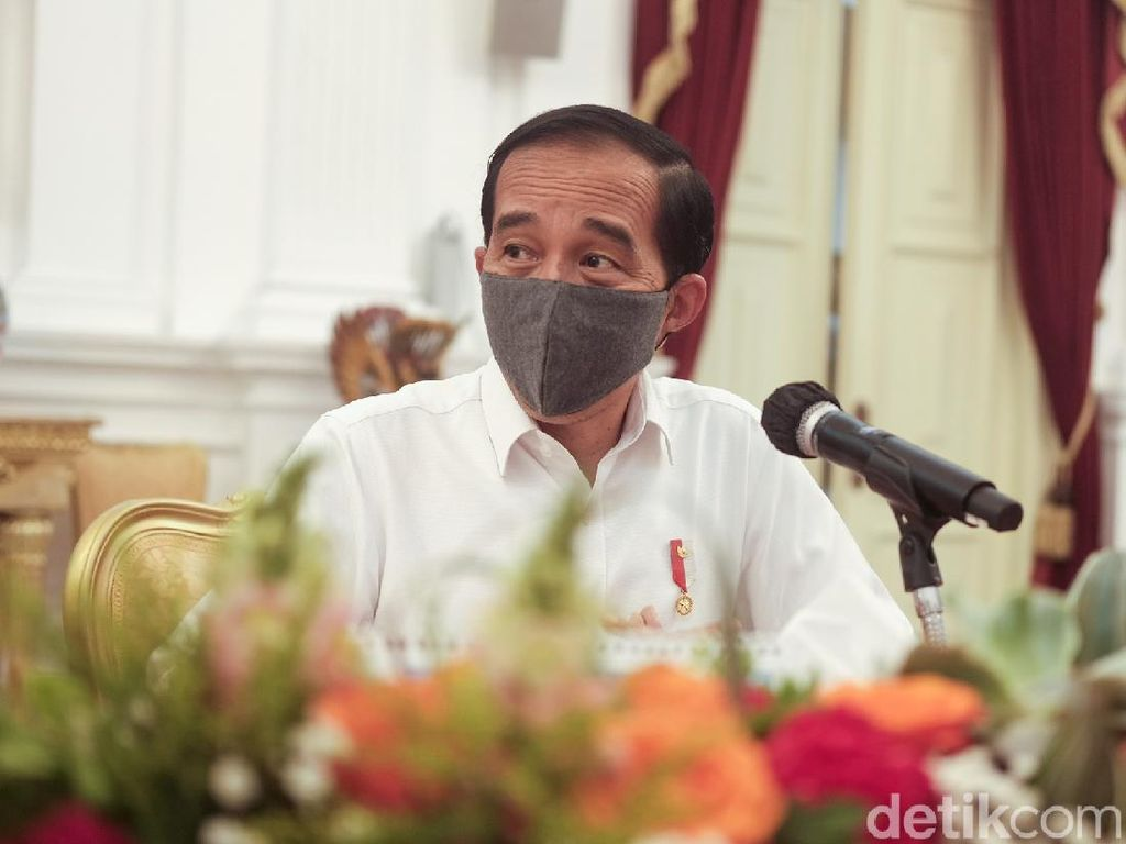 Terima Laporan BPK, Jokowi: Alhamdulillah 4 Tahun WTP