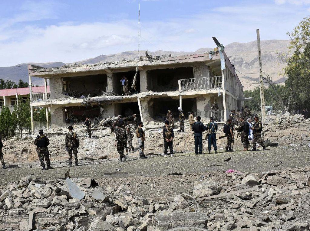 Kantor Intelijen Afghanistan Dibom, 11 Orang Tewas