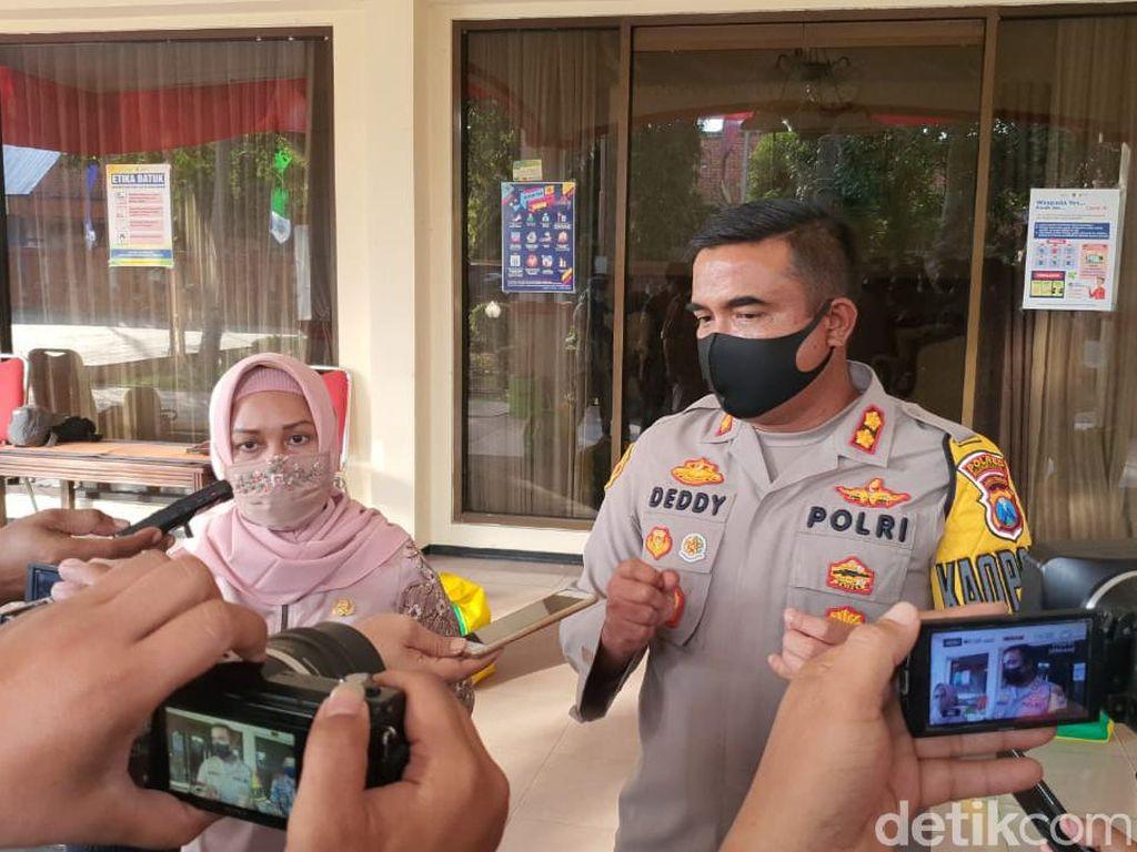 Awas! Enggan Pakai Masker di Kota Mojokerto Disanksi Kerja Sosial dan Denda
