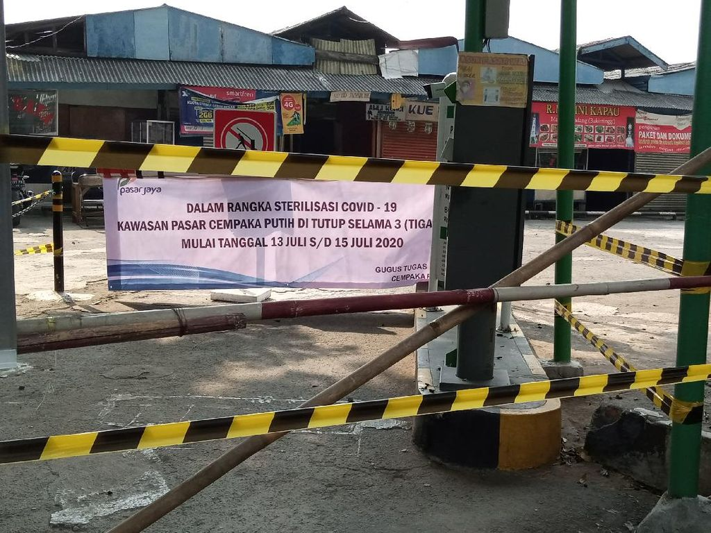 Ikappi: 317 Pedagang Pasar di DKI Positif Corona, Gubernur Terlalu Tutup Diri