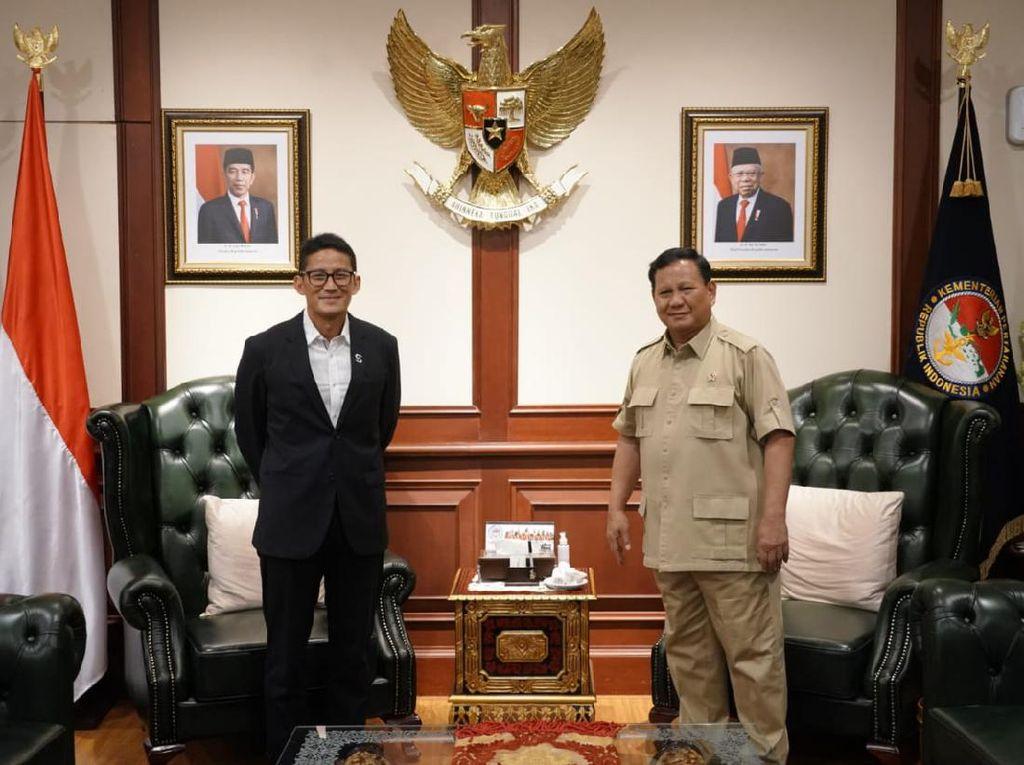 Sandiaga ke Prabowo: Selamat atas Amanah Baru Dirikan Ketahanan Pangan
