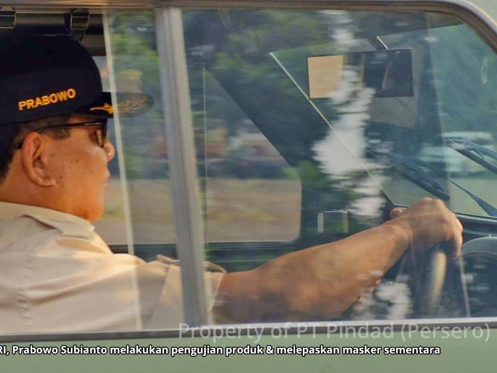 Prabowo Ingin 500 Rantis Maung Selesai Saat HUT TNI di Bulan Oktober