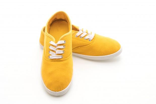 Model sepatu Vans populer digunakan oleh para skaters.