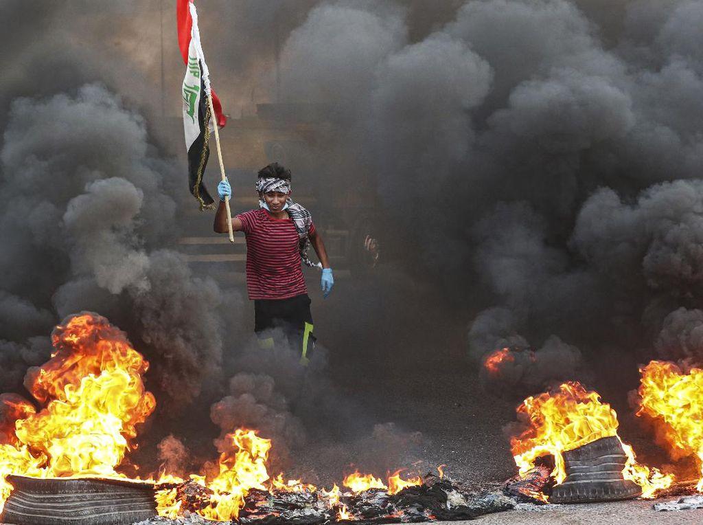 Seorang Aktivis Irak Ditembak Mati oleh Pria Bertopeng