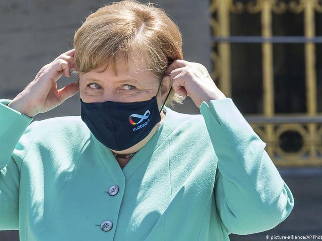 Angela Merkel Berjuang Loloskan Paket Bantuan Corona Uni Eropa 750 M Euro
