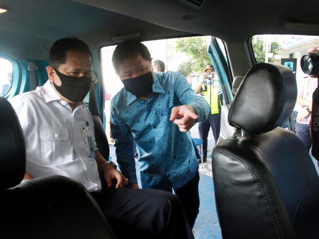 Armada Taksi Turut Terapkan Protokol Kesehatan