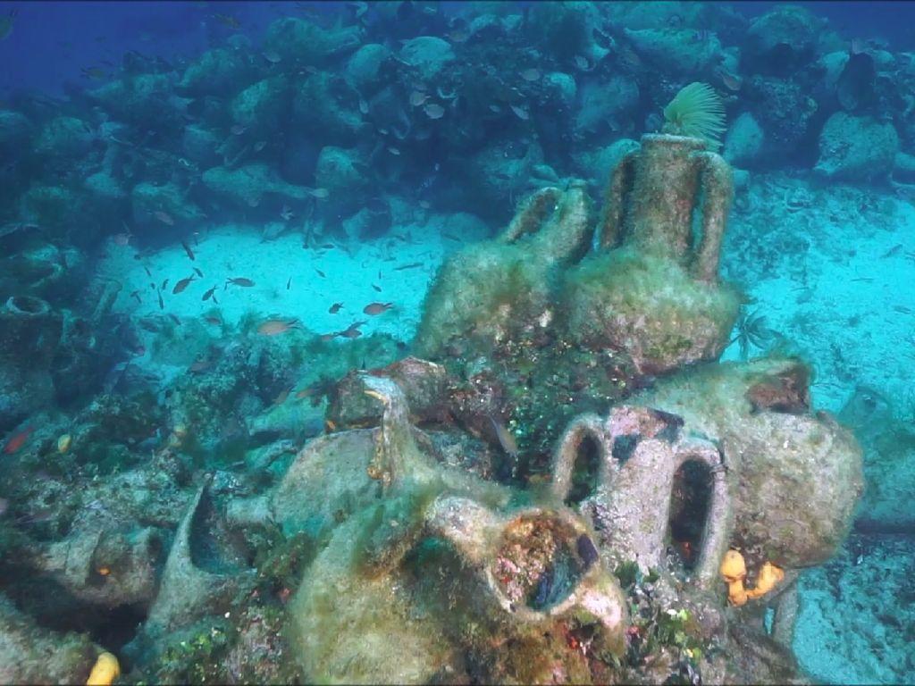 Pecinta Selam, Yunani Bangun Museum Bawah Air di Bangkai Kapal Nih