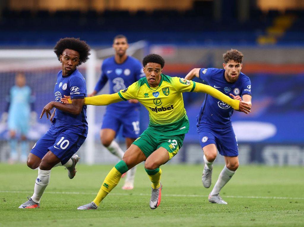Chelsea Vs Norwich: The Blues Unggul 1-0