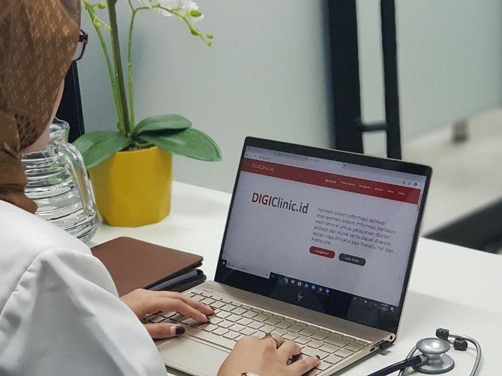Permudah Layanan Kesehatan, TelkomGroup Hadirkan Aplikasi DIGIClinic