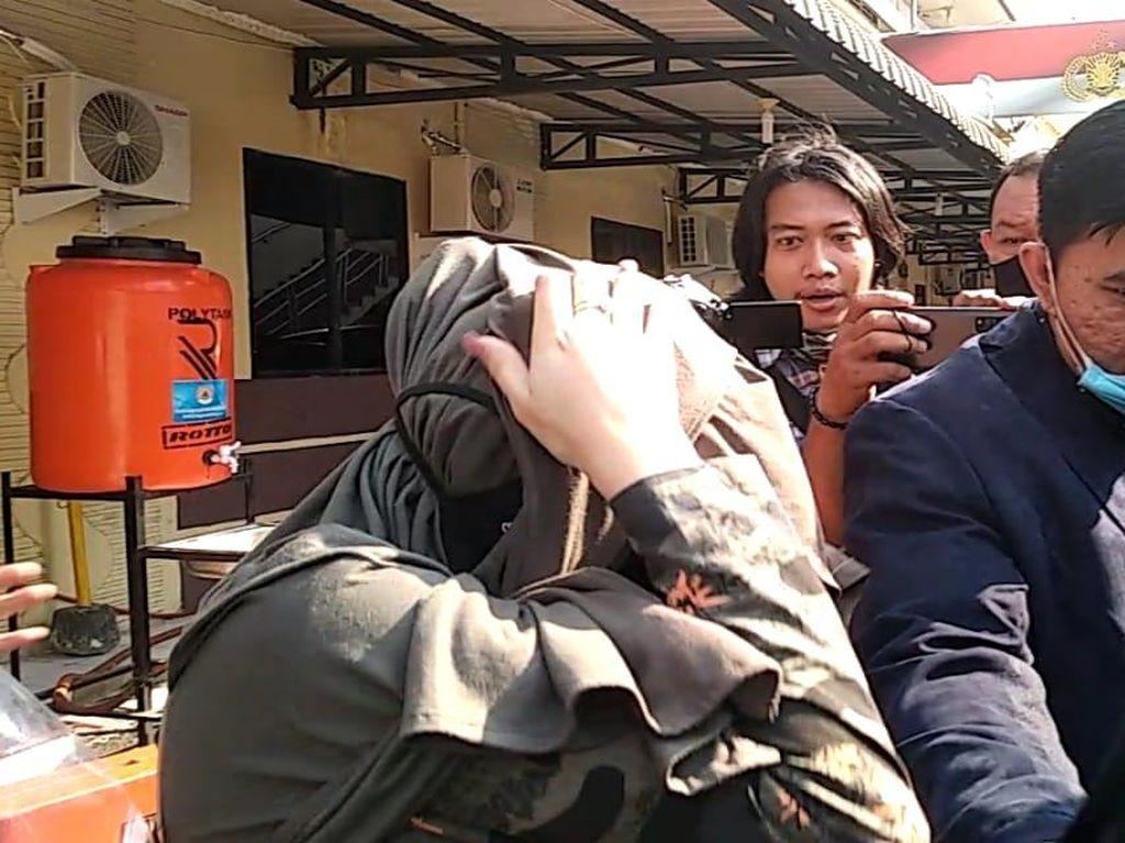Keluar dari Polrestabes Medan, Hana Hanifah Kembali ke Jakarta