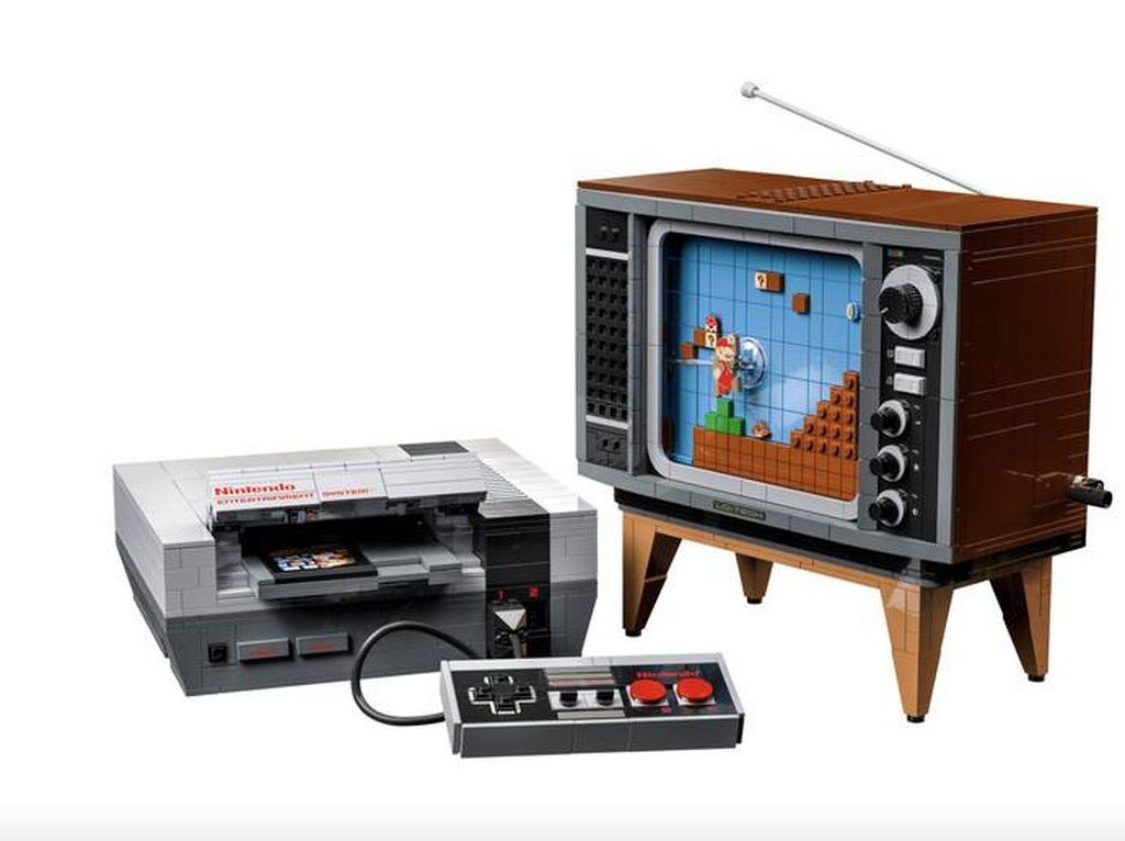 Kolaborasi Lego dan Nintendo Bikin Replika Konsol Game